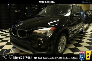 2013 BMW X1 X1 28i XDRIVE, PANORAMIC, CUIR, BLUETOOTH, MAGS
