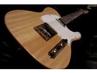 TELECASTER Electric Guitar NATURAL FINISH fender strings