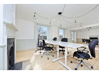 Fantastic media style office - up to 17 people - flexible terms