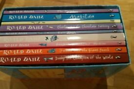Box Set of Roald Dahl Books