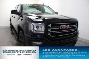 2016 GMC SIERRA 1500 4WD DOUBLE CAB ELEVATION DÉM.À.DIST CAM.REC