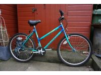 Peugeot 18 speed ladies mountain bike