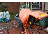 Belle Electric Cement Mixer 240 volt