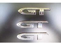 £20ono Citroen C2 GT Badge x 3