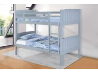 🎉 Sale On Furniture🎉 Single Wooden Bunk Bed In Multi Colors With Optional Mattress📞 Call Now📞