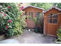 2 ROOMS SAME FLAT WITH PRIVATE GARDEN!!!