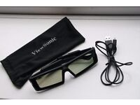 ViewSonic Active 3D Shutter Glasses for computer 3D ready projectors