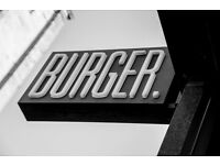 Full Time Burger Chef Needed