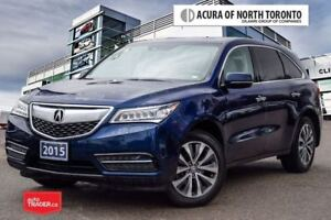 2015 Acura MDX Navigation at Accident Free| Blind Spot| Bluetoot