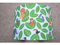 JOHN LEWIS LITTLE HOME LAMPSHADE ANIMAL FUN JUNGLE EXCELLENT CONDITION
