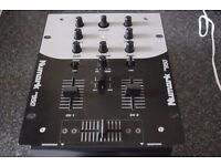 NUMARK 2 CHANNEL MIXER WITH POWER ADAPTER
