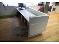 Reception Desk 3m x 0.80m