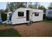 Brand New Swift Challenger 565 Luxe Caravan for sale, with seasonal pitch if required in Poole