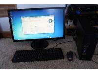 L@@K Acer X1420 + Acer 24 Inch Led Monitor, AMD Athlon X2 2.8mhz, 1TB HDD, 4GB Ram, 2GB VGA