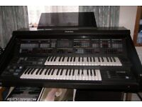 used technic electric organ good working order