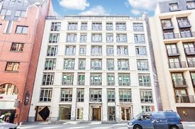 City, EC4, 1 double bed flat in sought after purpose built building located just off Fleet Street