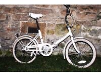 Raleigh Folding Bike For Sale City Centre Polwarth