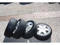 "16"" Alloy Wheels for VW Golf Mark 4, Bora"