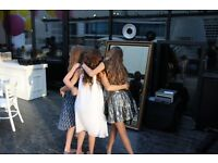 Photo Booth Hire. Magic mirror booth available for almost any event you have planned from £150 2 hrs