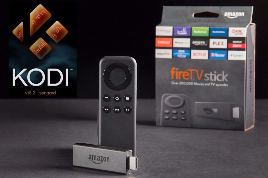 Amazon Fire TV Stick with Kodi 16.1, TV, Movies, Sportin Bishop Auckland, County DurhamGumtree - AMAZON FIRE TV STICK with Kodi Version 16.1 All Popular Add ons Fully Installed This AMAZON FIRE TV STICK is brand new and was only opened to install and configure Kodi & Additional Apps with Latest Stable KODI Popular Add ons installed Mobdro and...