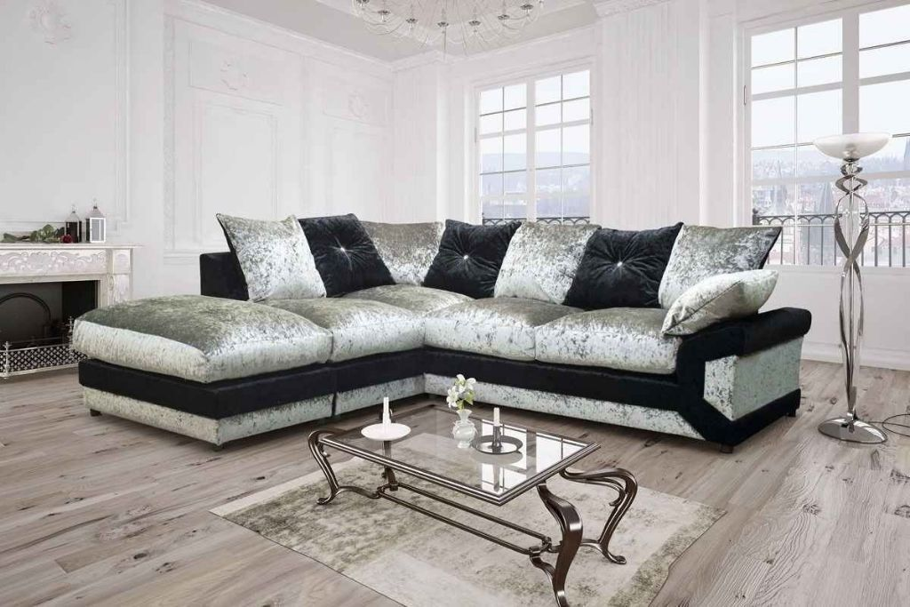 NEW CRUSH VELVET FABRIC CORNER SOFAS AND 3 AND 2 SEATER SUITESin Finchley, LondonGumtree - CON.TACT INFOR IN THE FOLLOWING PIXTURES or 07903198072 BRAND NEW STYLISH DEENO SUITES AVAILABLE IN DOUBLE TONE COLOR BLACK GREY OR BROWN BEIGE RECOMMENDED RETAIL PRICE 599 OUR PIRCE 349 FOR 32 OR CORNER SUITE DIMENSIONS Corner to armrest 250cm...