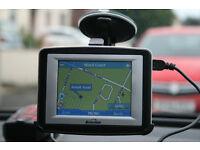 Binatone Satellite Navigation X350 Including UK & Ireland Maps