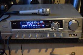 WEIDA AV-300 KARAOKE AMP 160W 2MIC IN CAN BE SEEN WORKING