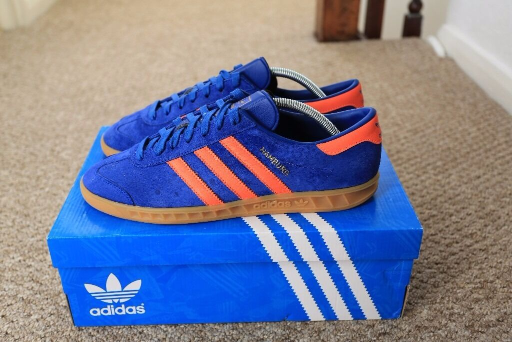 adidas hamburg blue and orange