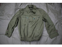 Hungarian Army Issue - Lightweight Tank/Crewman Jacket (Large)