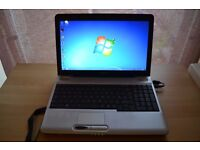 Toshiba Satellite L500 - Celeron - 4GB RAM - Windows 7 - Office 2013 - Battery - Charger - Updated