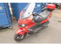 GILERA NEXUS 300cc 2010 one owner from new (mint)