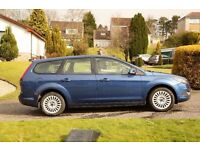 Ford Focus Estate - Blue Titanium Model with lots to offer - Good condition inside and out