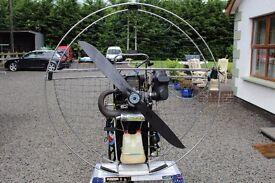 H&E R120 Paramotor, Paraglider, Microlight, Flying, Paraglide