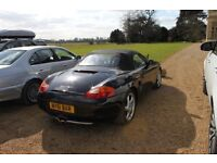 Porsche Boxster 986. Full service history low milage for year.