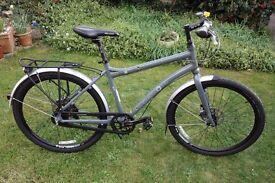"Dahon 'Cadenza' 26"" wheel full size folding bike with Shimano Alfine hub gears. (18"" frame size)"