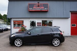 2012 Mazda Mazdaspeed3 TURBO 2.3L 6 VITESSES GARANTIE INCLUS