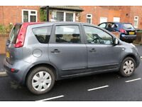 PRIVATE SALE NISSAN NOTE MANUAl PETROL 1.4 65.585 MILES