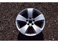 """Single Genuine 17"""" Audi 8V A3 Alloy Wheel Silver S Line Sportback 8V0601025P"""
