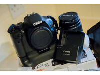Canon EOS Kiss X4 (550D) with 18-55mm Kit Lens, Tripod & Accessories.