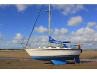 1986 Colvic Countess 28ft FOR SALE