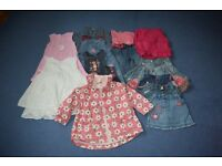 Girls clothes 3-6 months, 12-18 months, 18-24 months, 3-4 years, 4-6 years