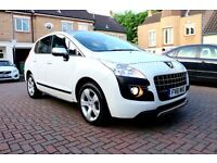 PEUGEOT 3008 1.6 E-HDI 112 EXCLUSIVE 5 DOOR FSH 1 OWNER HPI CLEAR HEAD DISPLAY EXCELLENT CONDITION