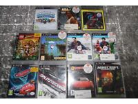 Sony Playstation PS3 games x 11