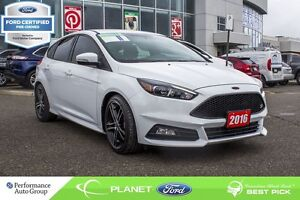 2016 Ford Focus ST - FORD CERTIFIED LOW RATES & EXTRA WARRANTY