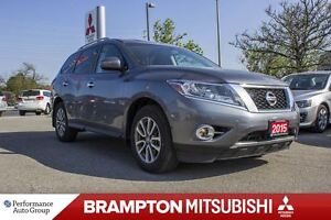2015 Nissan Pathfinder SV|7-PASS|BACKUP CAM|BLUETOOTH|HTD SEATS|
