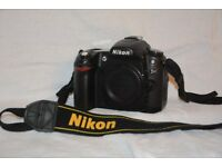 Nikon D80 digital camera body only. Original Nikon box. Including 2 batteries +charger.