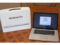 "Macbook Pro 15"" NEW BATTERY, Intel i5 2.53GHz, 8GB RAM, 256GB SSD, Mid-2010, with original box"