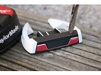 Taylor Made Ghost Spider Si 72 Putter. 35 inches long, with headcover