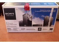 Sony HT-AS5 Home Cinema System 5.1, 1000 watts complete and boxed.