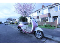 Pink Sym Mio 50 2009 Scooter / Moped